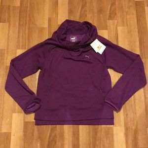 Puma Cowl Neck Sweatshirt NEW W/ TAGS